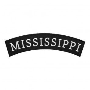 Iron On Mississippi State Top Rocker Patch