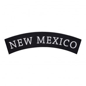 Iron On New Mexico State Top Rocker Patch