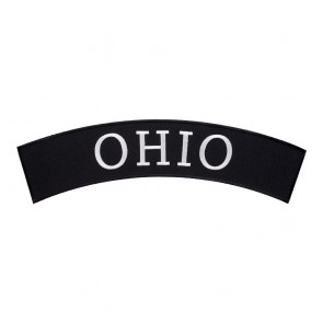 Sew On Ohio State Top Rocker Patch