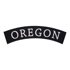 Iron On Oregon State Top Rocker Patch