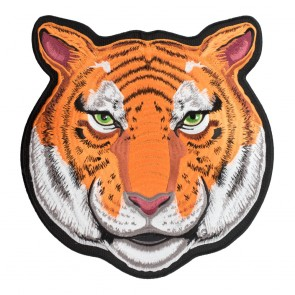 Orange & White Panthera Tigris Patch