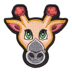 Gracie The Giraffe Cut-Out Patch