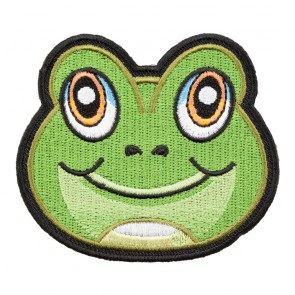 Freddy The Green Frog Cut-Out Patch