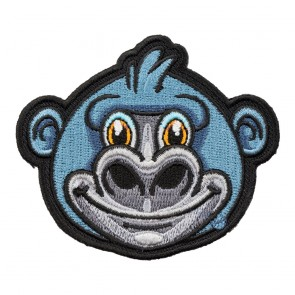 Embroidered Gorilla Patch