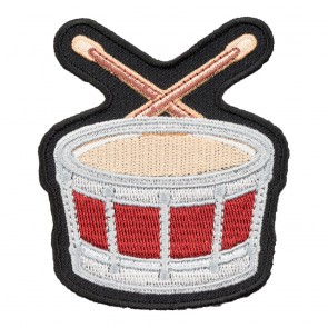 Embroidered Drum Patch