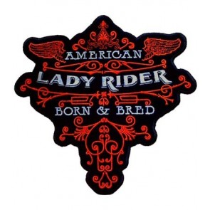 American Lady Rider Born & Bred Patch, Small Size