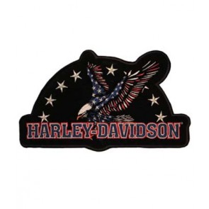 Embroidered Harley Davidson Force of One Patch