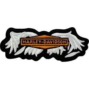 Broken Wings MD Motorcycle White Patch