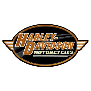Large Size Harley Sew On Embroidered Bike Show Motorcycle Patch