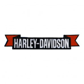 Embroidered Harley Davidson H-D Sew On Rocker Patch