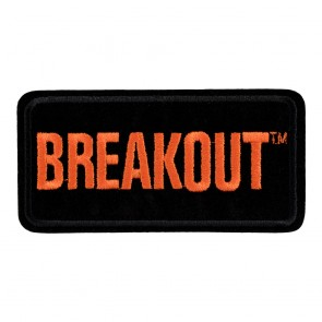 Embroidered Harley Davidson Breakout Motorcycle Patch
