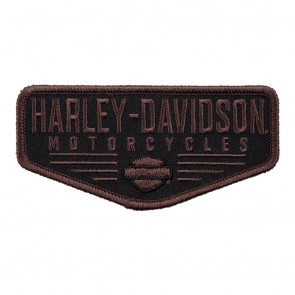 Harley Davidson Renowned Striped Bar & Shield Patch