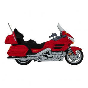 Sew On Honda Goldwing 1800 Red Embroidered Motorcycle Patch