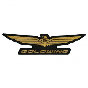 Iron On & Sew OnHonda Goldwing Embroidered Logo Patch