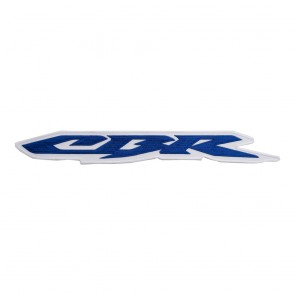 Honda Embroidered Blue & White CBR Logo Patch