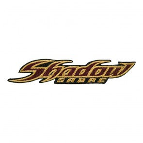 Sew On Honda Shadow Sabre Logo Badge