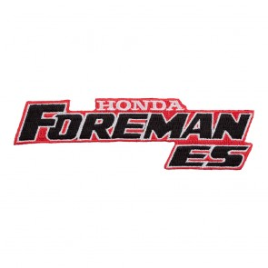 Honda Foreman ES Embroidered Sew On Motorcycle Cut-Out Patch