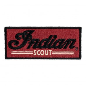 Indian Motorcycle Scout Red Embroidered Patch