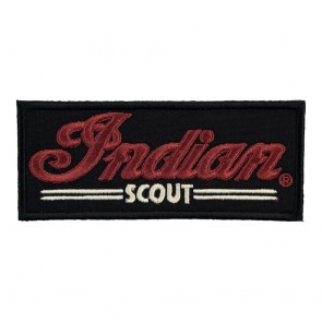 Indian Motorcycle Scout Embroidered Patch