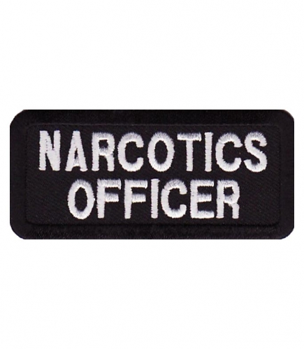 Narcotics Officer Patch | Law Enforcement Patches