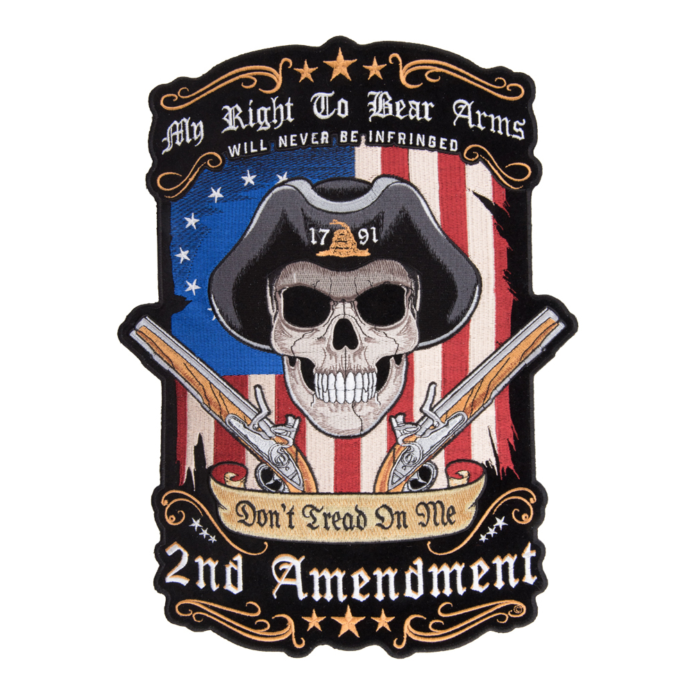 Large Back Patches for Vests & Jackets | Military, Biker