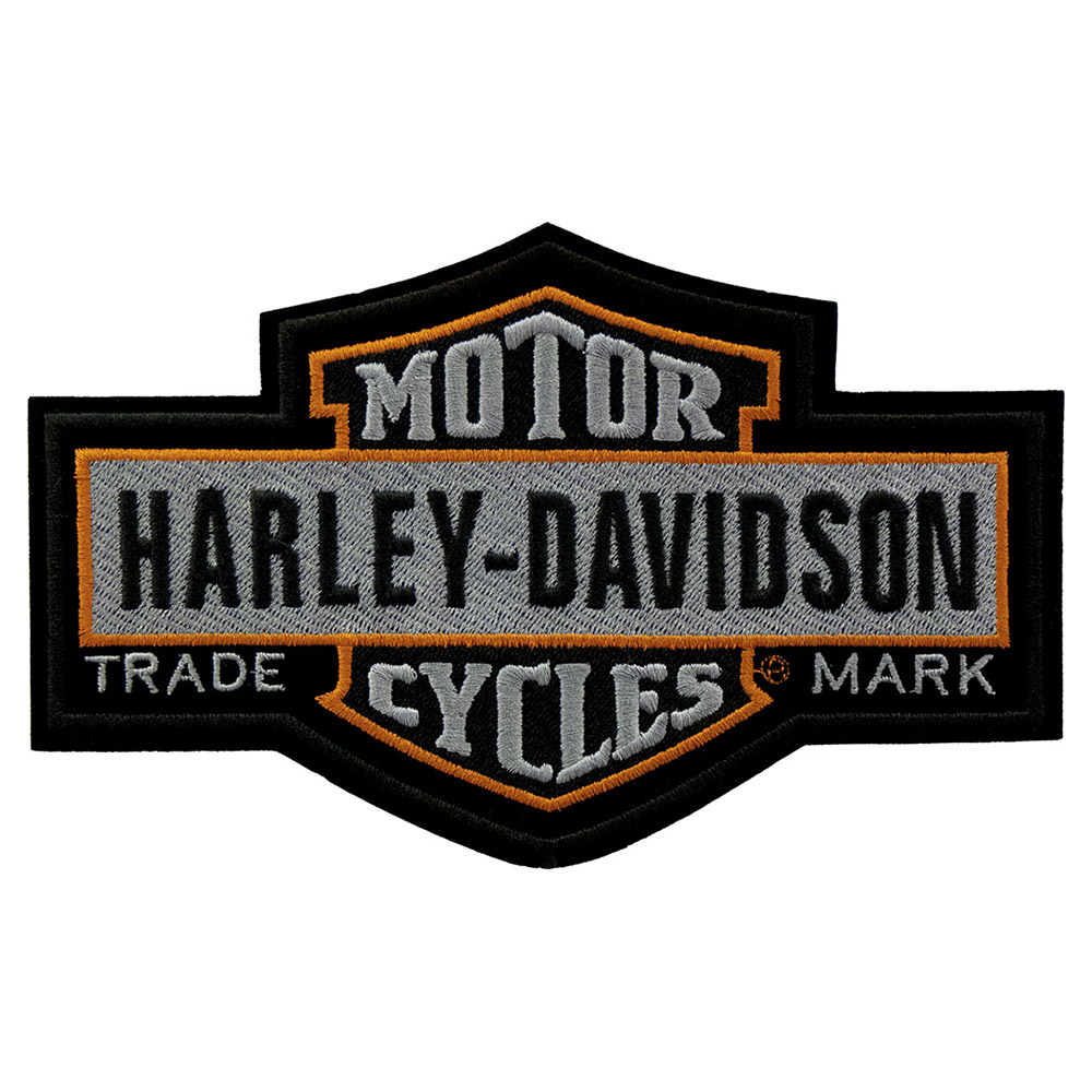 harley davidson nostalgic bar shield patch harley davidson patches rh patchstop com