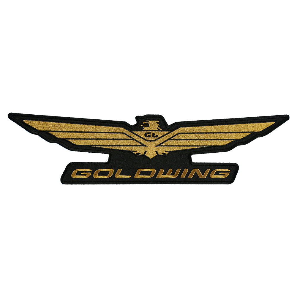 honda goldwing motorcycle embroidered eagle logo patch honda rh patchstop com gold wing logo emblem goldwing color codes
