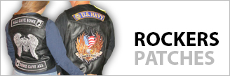 Motorcycle Rocker Patches
